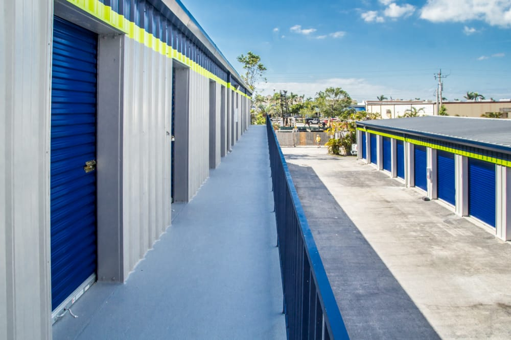 Outdoor units at Prime Storage in Marco Island, Florida