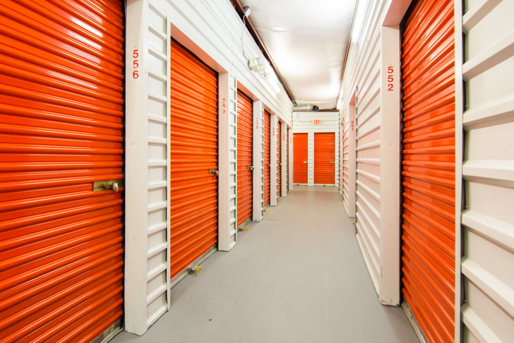 Indoor units at at Prime Storage in North Fort Myers, Florida