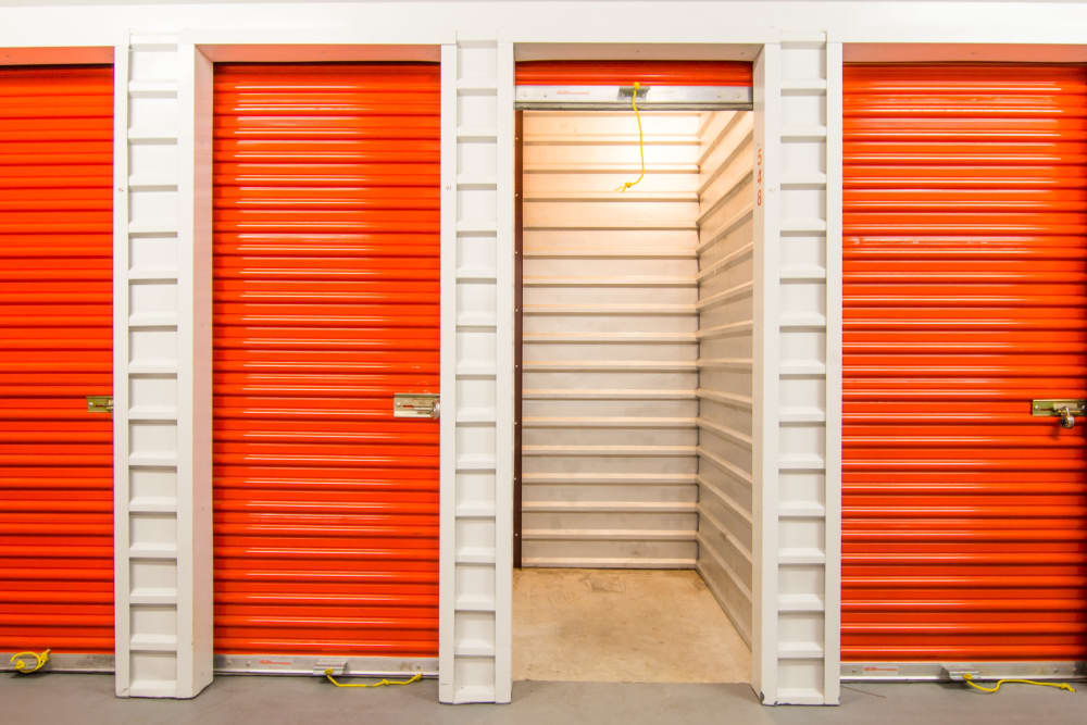 Prime Storage in North Fort Myers, Florida has locker units for rent