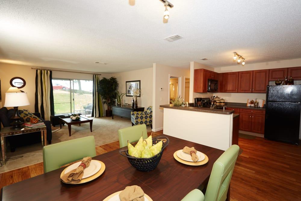 Middletown Ridge Apartments showcase spacious floor plans in Middletown