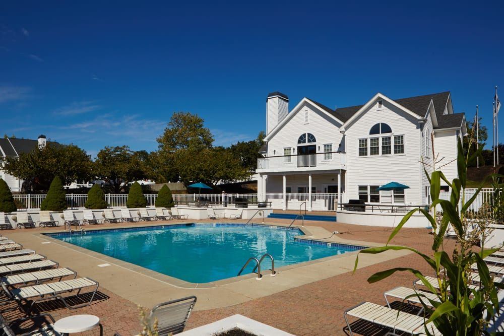 Enjoy a shimmering pool at Middletown Ridge Apartments in Middletown