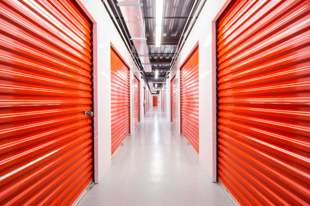 Interior units at Prime Storage in Rockledge, Florida