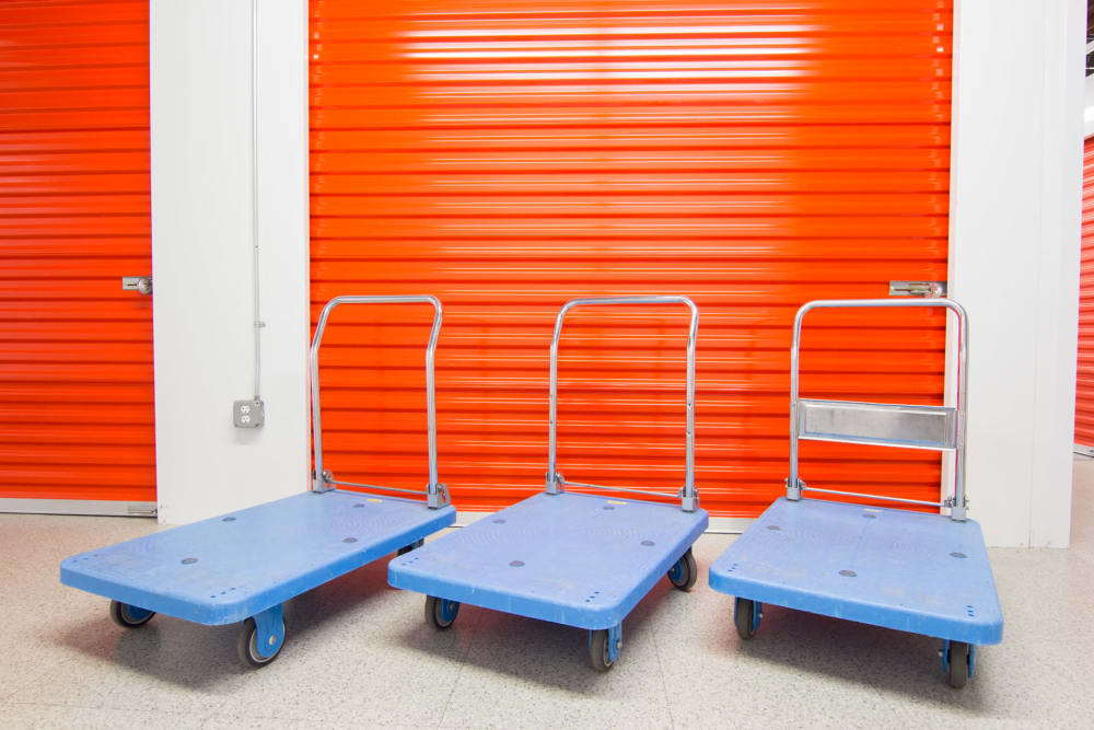Prime Storage offers dollies and carts in Rockledge, Florida