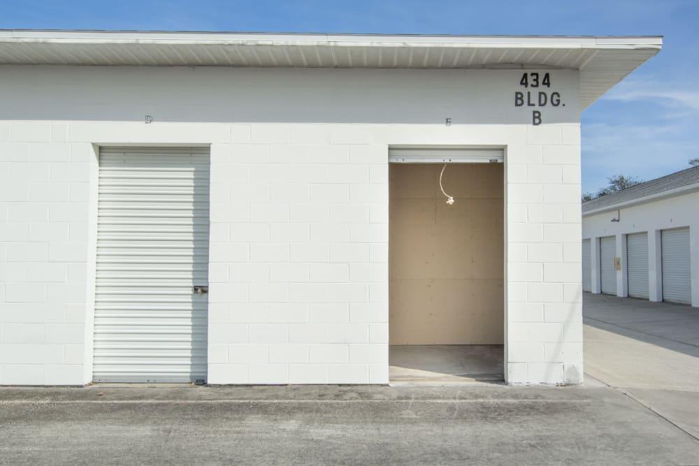 Prime Storage has outdoor locker units in Rockledge, Florida