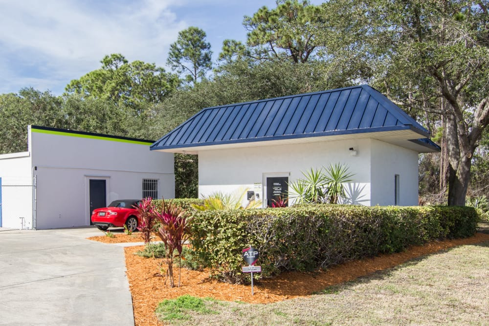 Prime Storage entrance in Rockledge, Florida