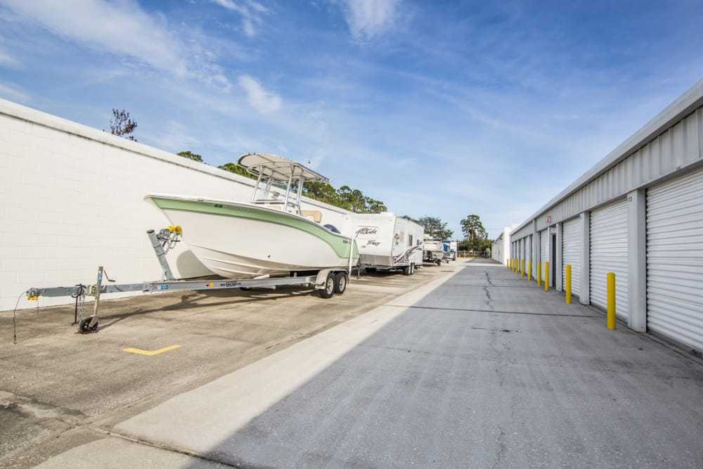 Prime Storage has drive-up units in Rockledge, Florida