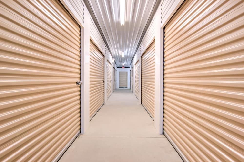 Indoor units at Prime Storage in Marietta, Georgia