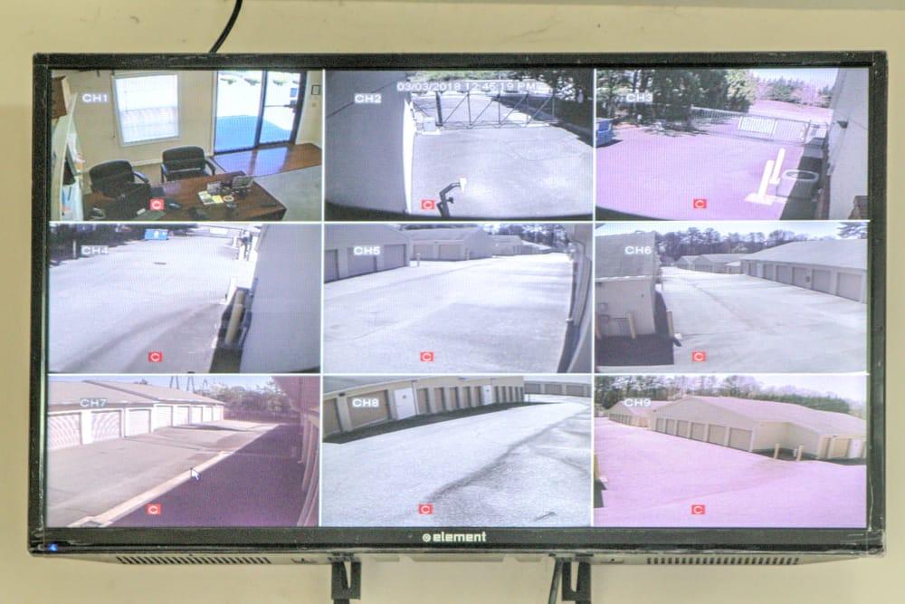 Security monitoring at Prime Storage in Marietta, Georgia