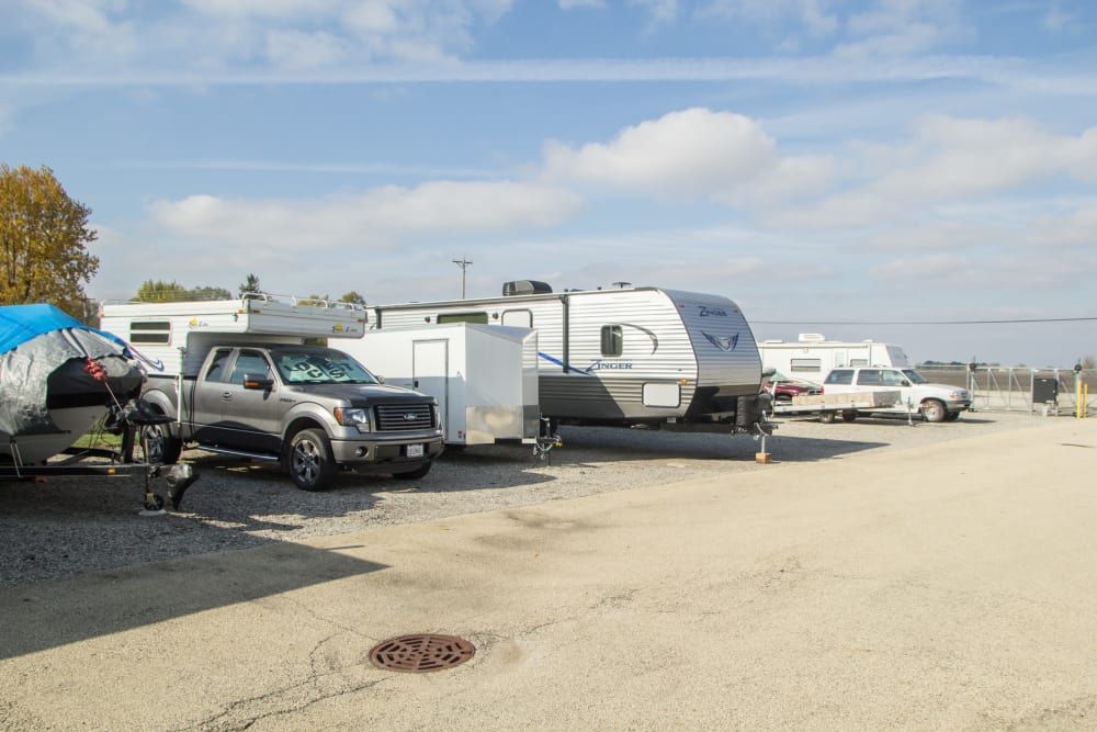 Prime Storage offers RV parking in Bondville, Illinois