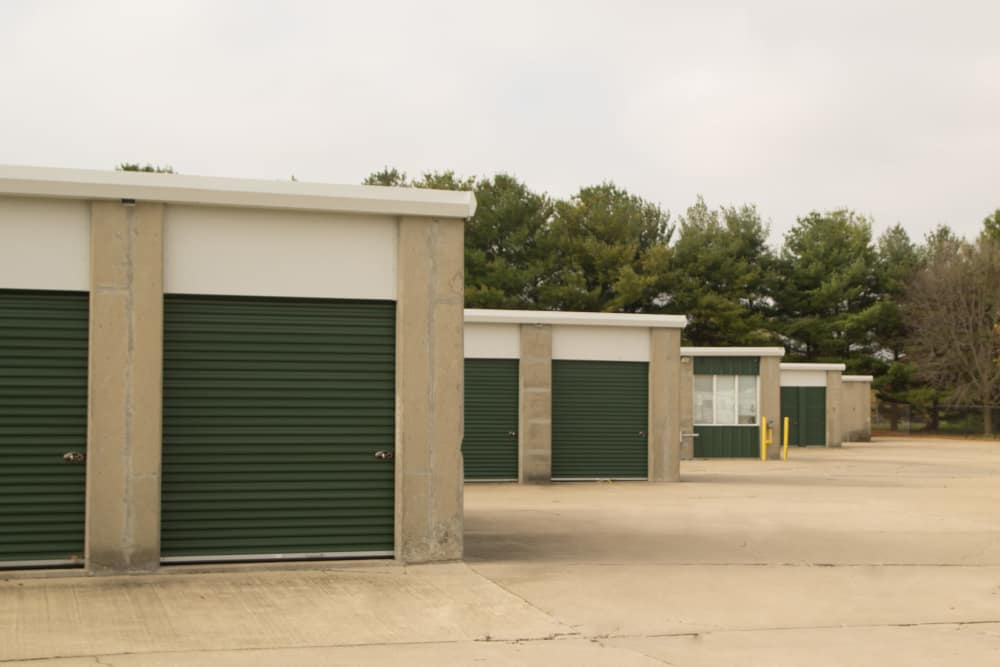 Prime Storage has all ground-level units in Champaign, Illinois