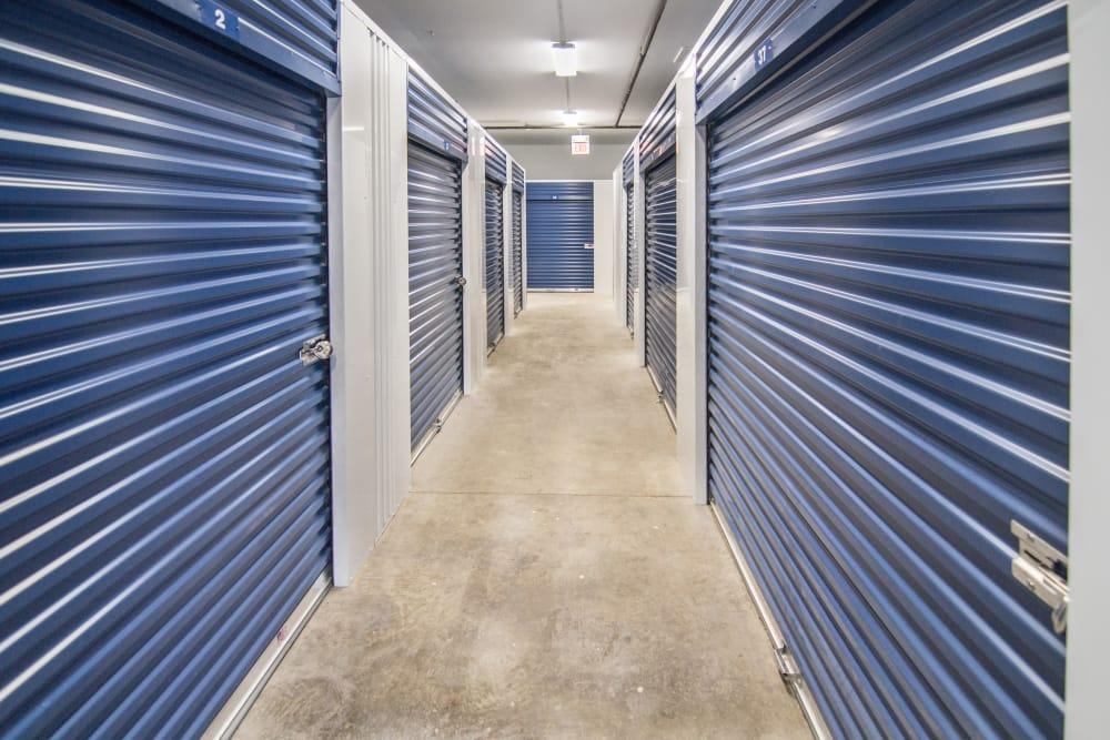 Prime Storage has interior units in Champaign, Illinois