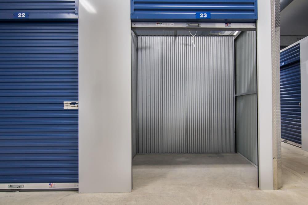 Exterior units at Prime Storage in Champaign, Illinois