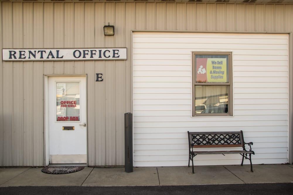 Prime Storage rental office in Champaign, Illinois