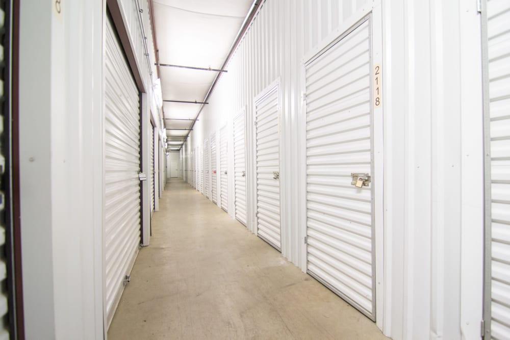 Interior units at Prime Storage in West Chicago, IL
