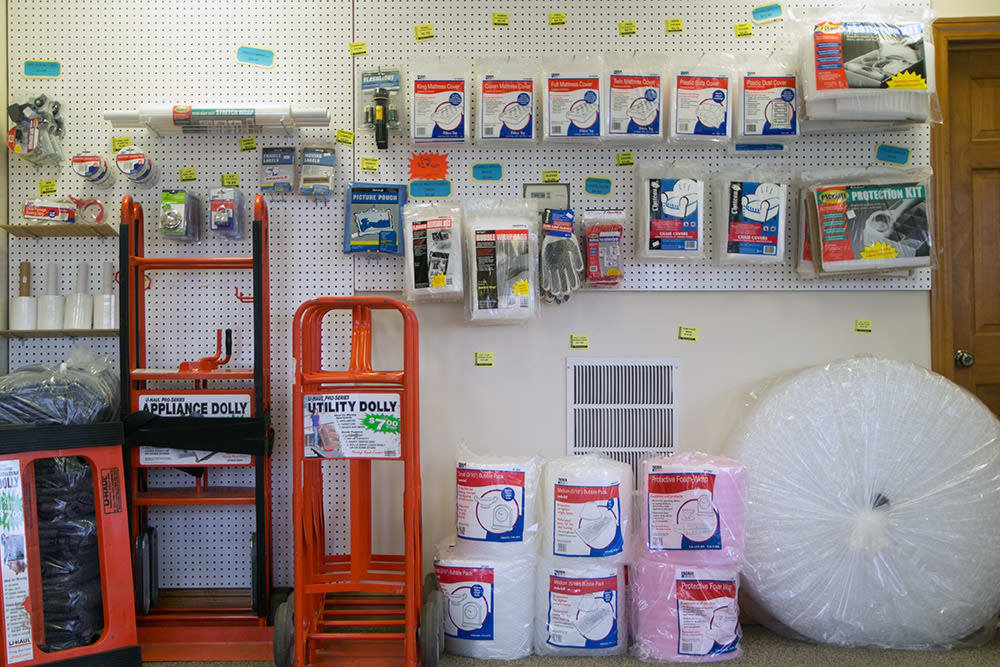 Seacoast Mini Storage  sells packing and moving supplies