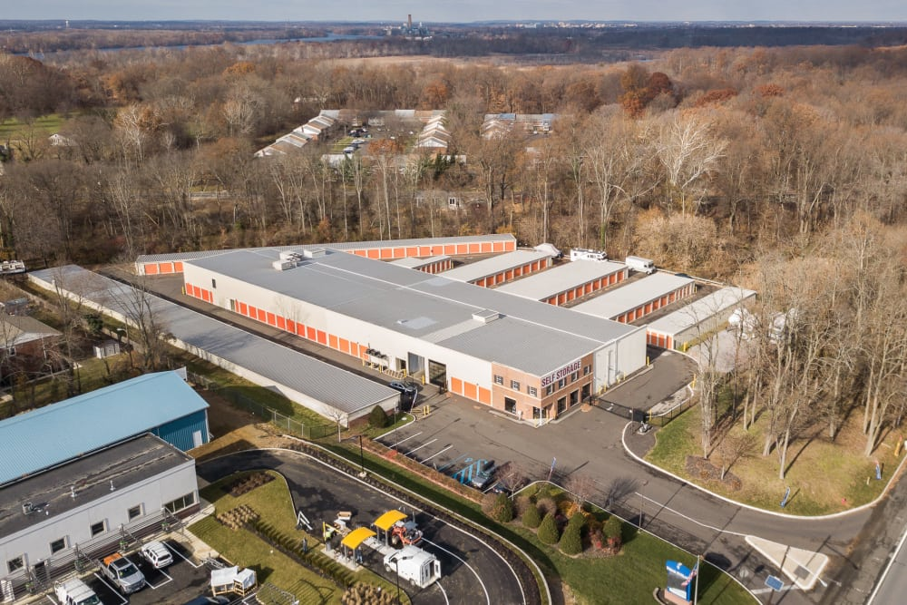 Aerial view of Prime Storage in Bordentown, NJ