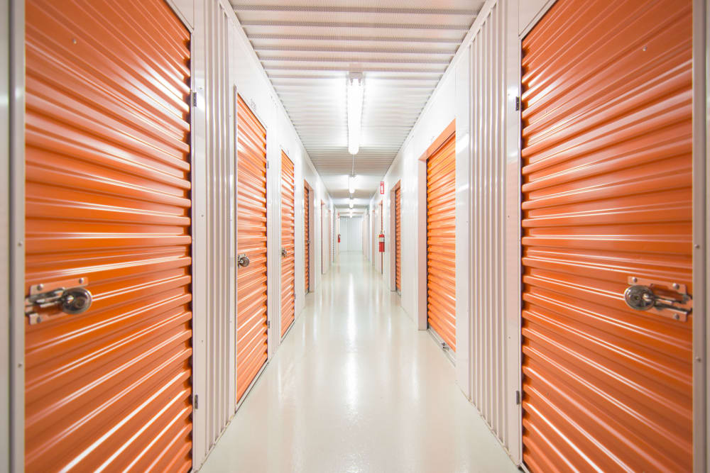 Interior units available at Prime Storage in Edison, NJ