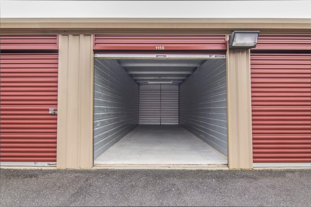 Drive-up units at Prime Storage in Egg Harbor Township, NJ