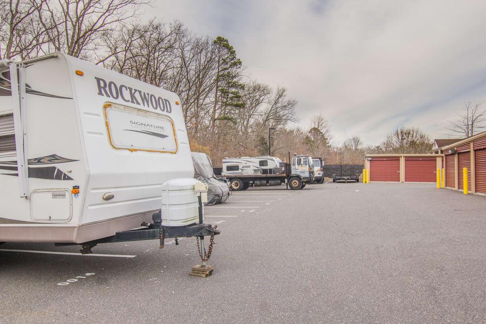 RV parking at Prime Storage in Egg Harbor Township, NJ