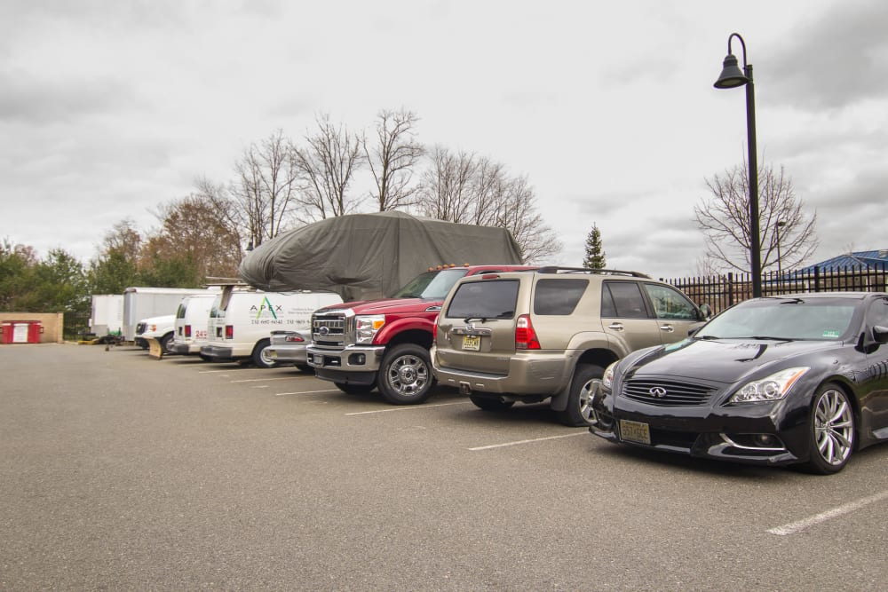 Prime Storage in Freehold, NJ has parking