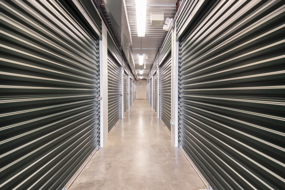 Interior units at Prime Storage in Freehold, NJ