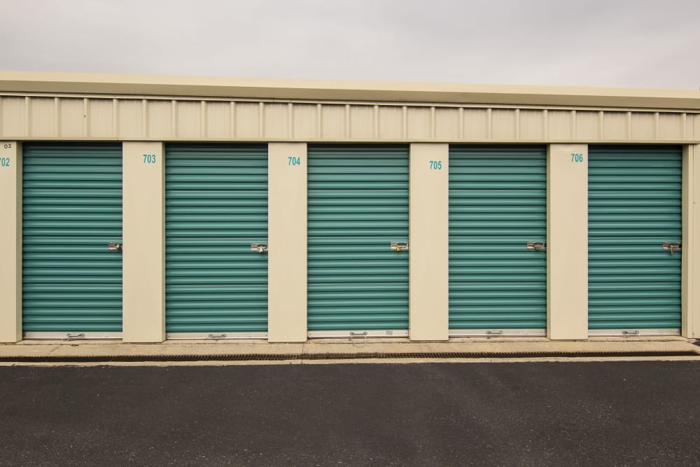 Prime Storage in Glassboro, NJ has drive-up units
