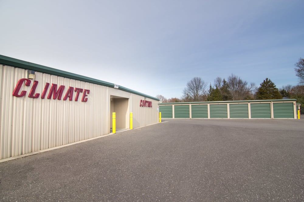 Climate-controlled units at On Site Storage in Hammonton, NJ