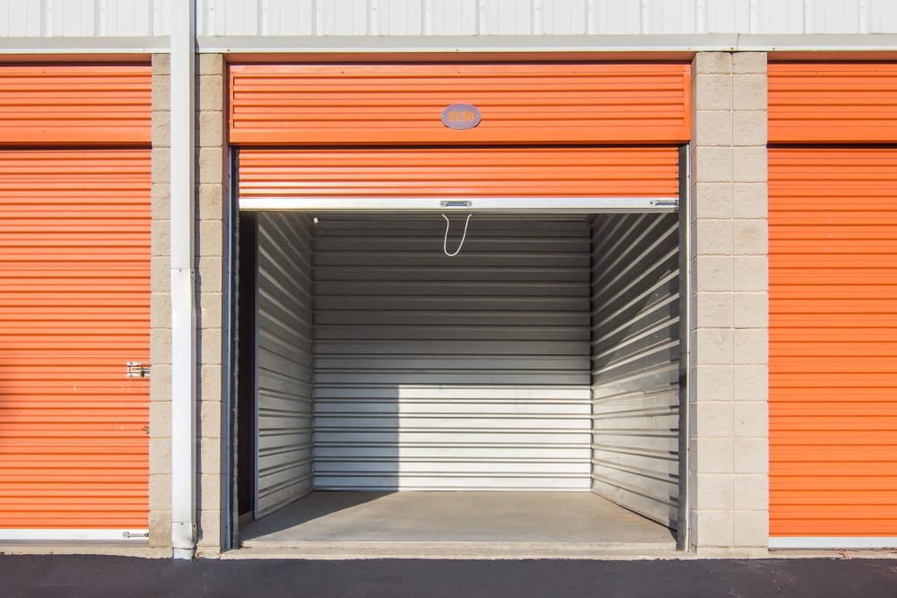 Drive-up unit at Prime Storage in North Brunswick Township, NJ