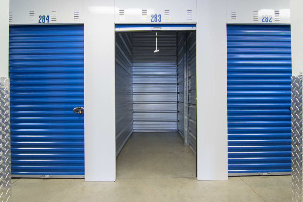 Tyler Self Storage locker unit in Mentor, OH