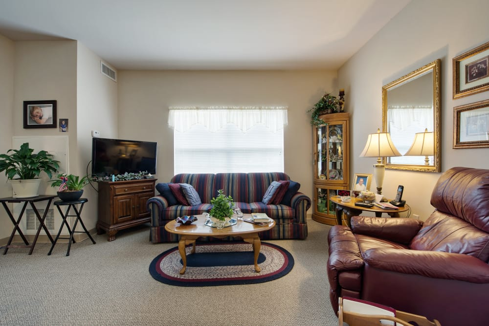 A living room at Azalea Estates of Fayetteville