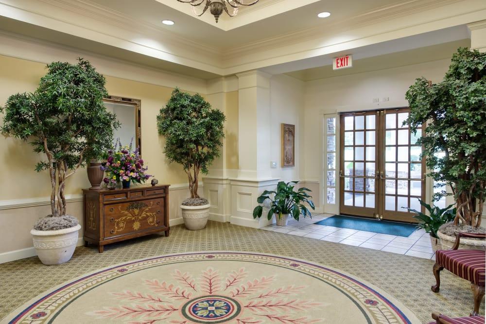 Main lobby at Azalea Estates of Fayetteville in Fayetteville, Georgia
