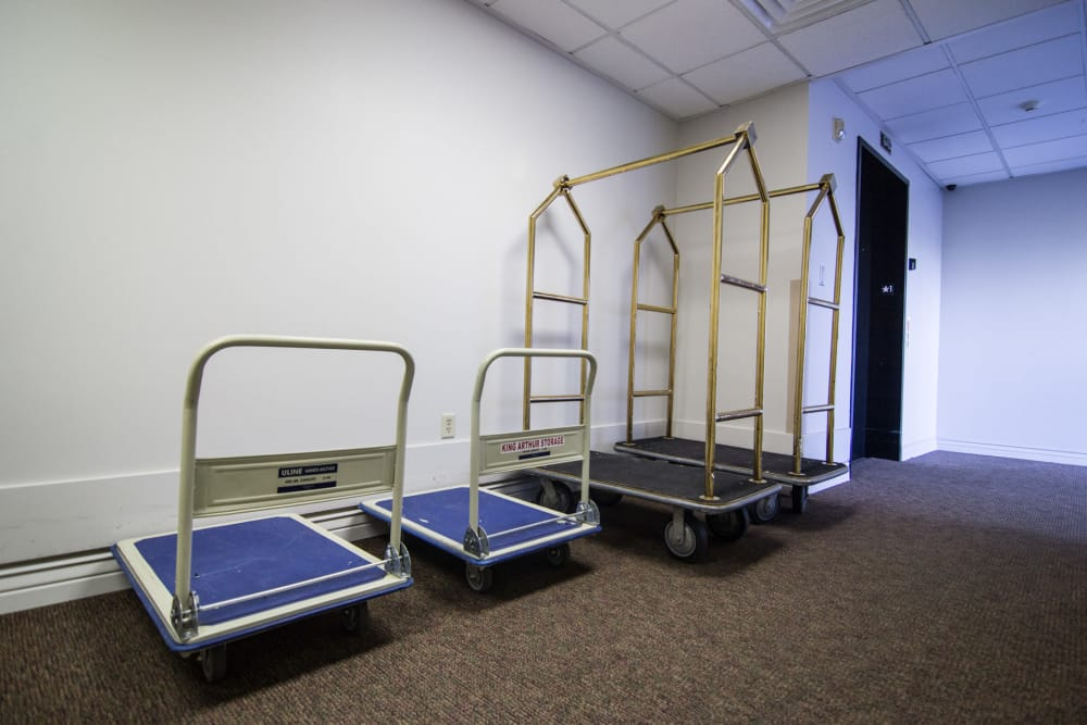 Dollies And Carts Available For Free At Prime Storage In Draper, Utah