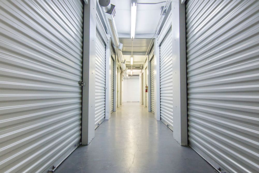 Interior units at Prime Storage in West Valley, Utah