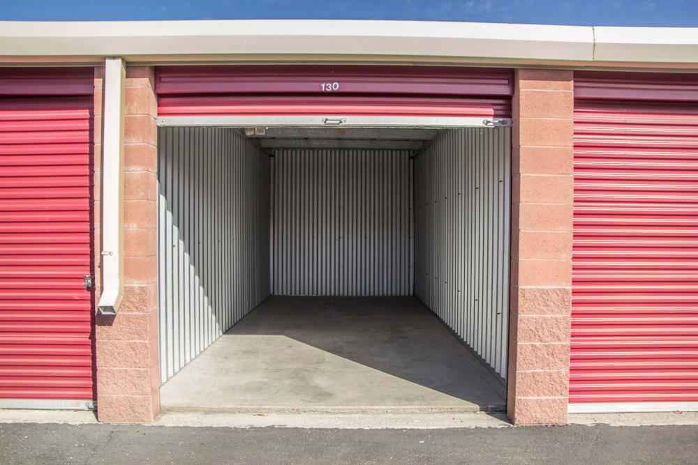 Ground-level unit at Prime Storage in West Valley, Utah