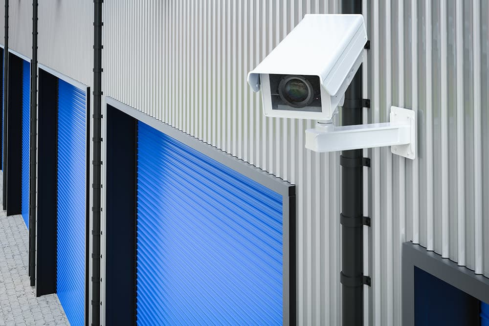 Capital Self Storage Security Camera in Harrisburg, PA