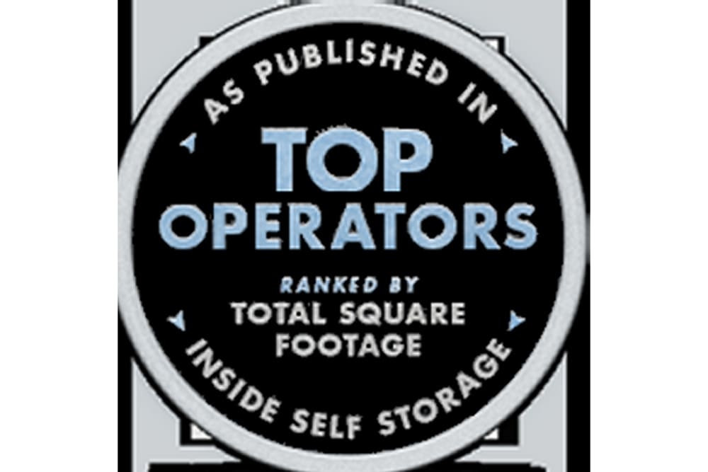 Top operator award at Advantage Storage - McDermott Square in Plano, Texas