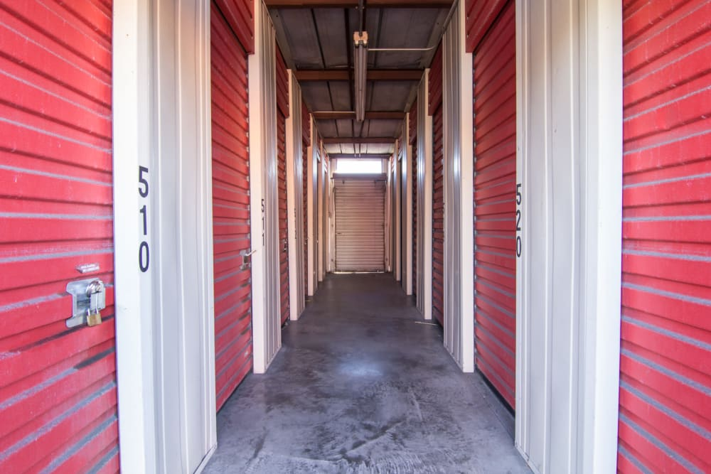 Interior units at Prime Storage in Albany, NY