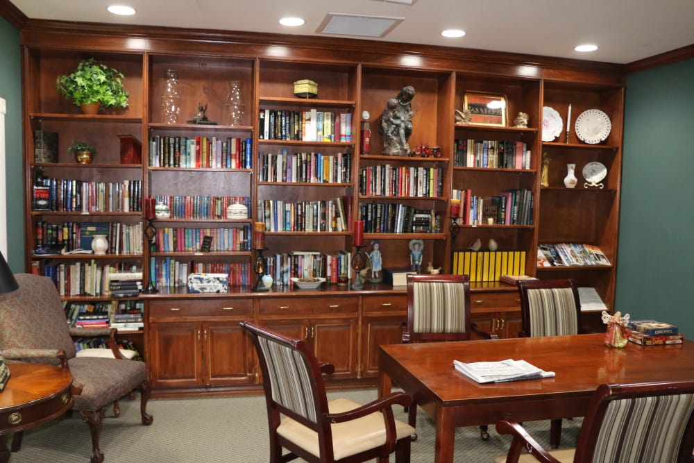 Library at Azalea Estates of Gonzales in Gonzales, LA.