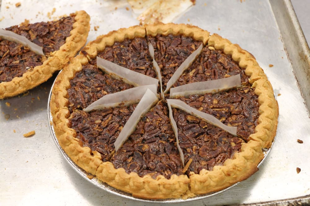 A pecan pie at Azalea Estates of Slidell in Slidell, Louisiana