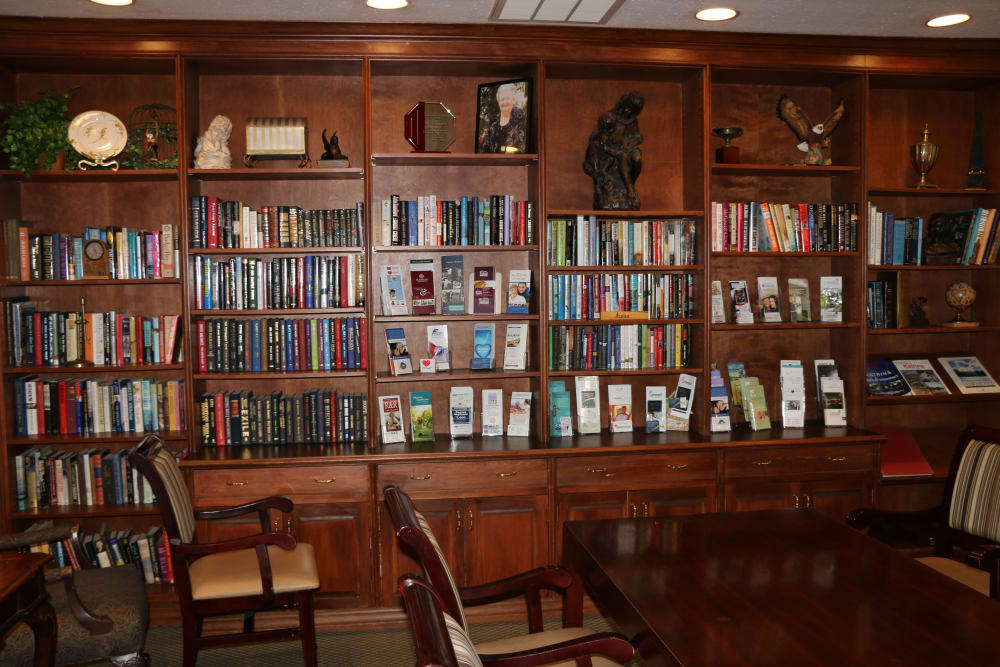 Community library at Azalea Estates of Slidell in Slidell, Louisiana