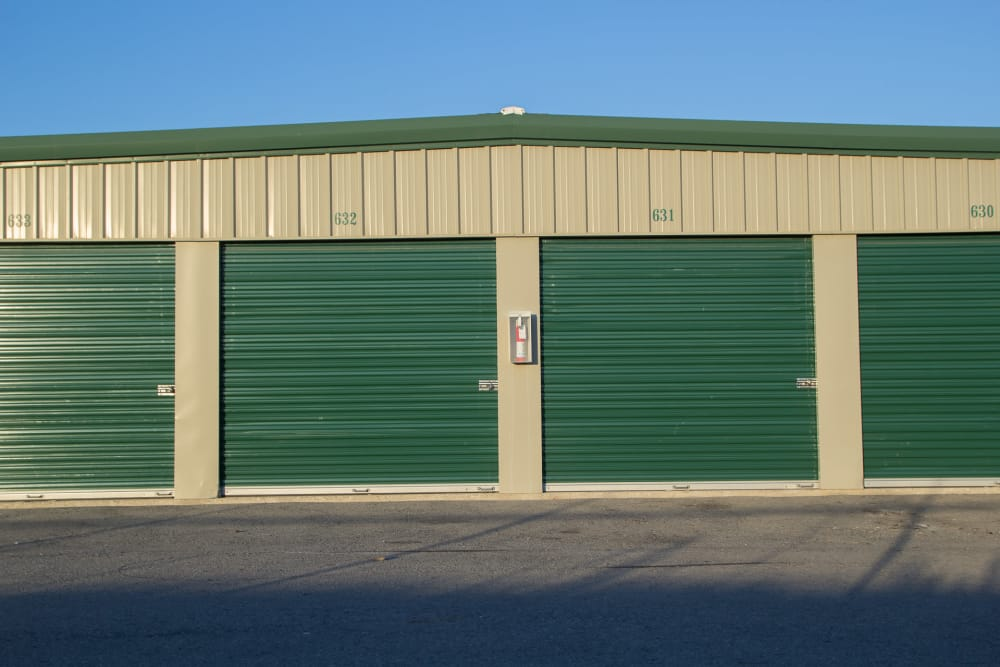 Drive-up units at Capital Self Storage New Hampton in New Hampton, NY