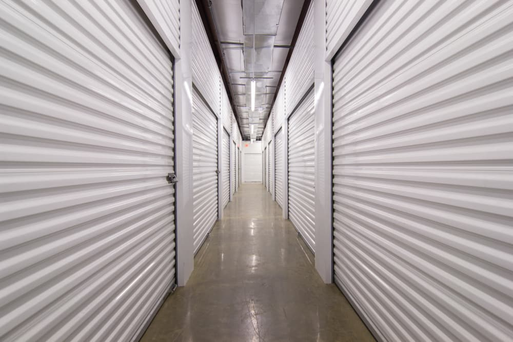 Well-lit interiors at Capital Self Storage New Hampton in New Hampton, NY