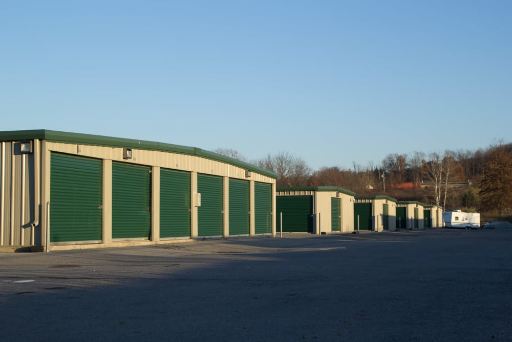 Outdoor units at Capital Self Storage New Hampton in New Hampton, NY
