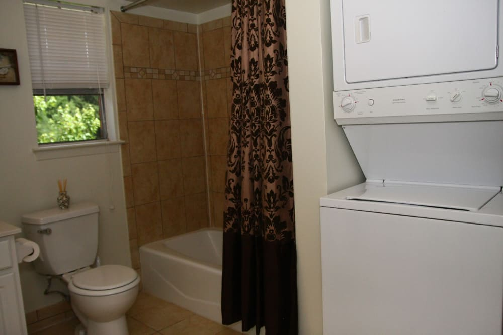 Bathroom at Park Apartments in Bordentown, New Jersey
