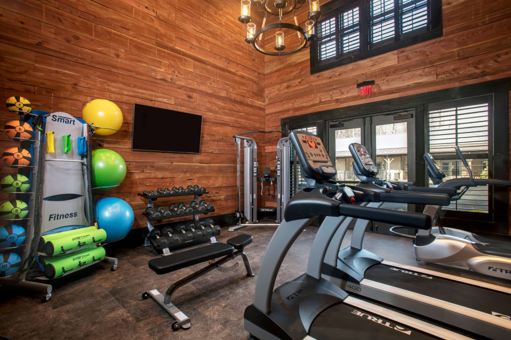 Fitness facility at Silver Companies