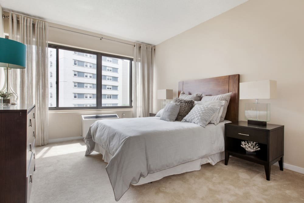 Large master bedroom at Prospect Place