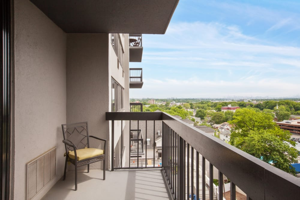 Take in the views from your private balcony at Prospect Place