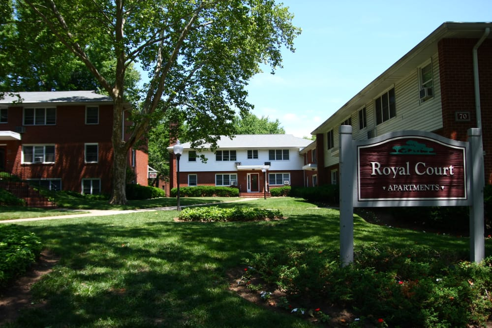 Royal Court Apartments is shady and quiet