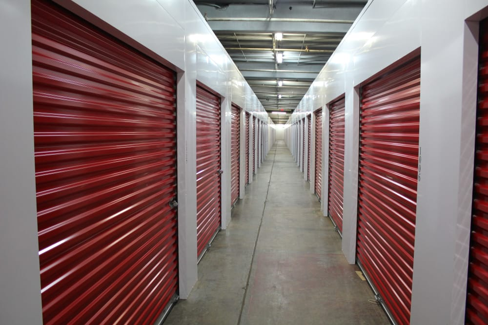 Exceptionnel NoDa Self Storage Interior Storage Units In Charlotte