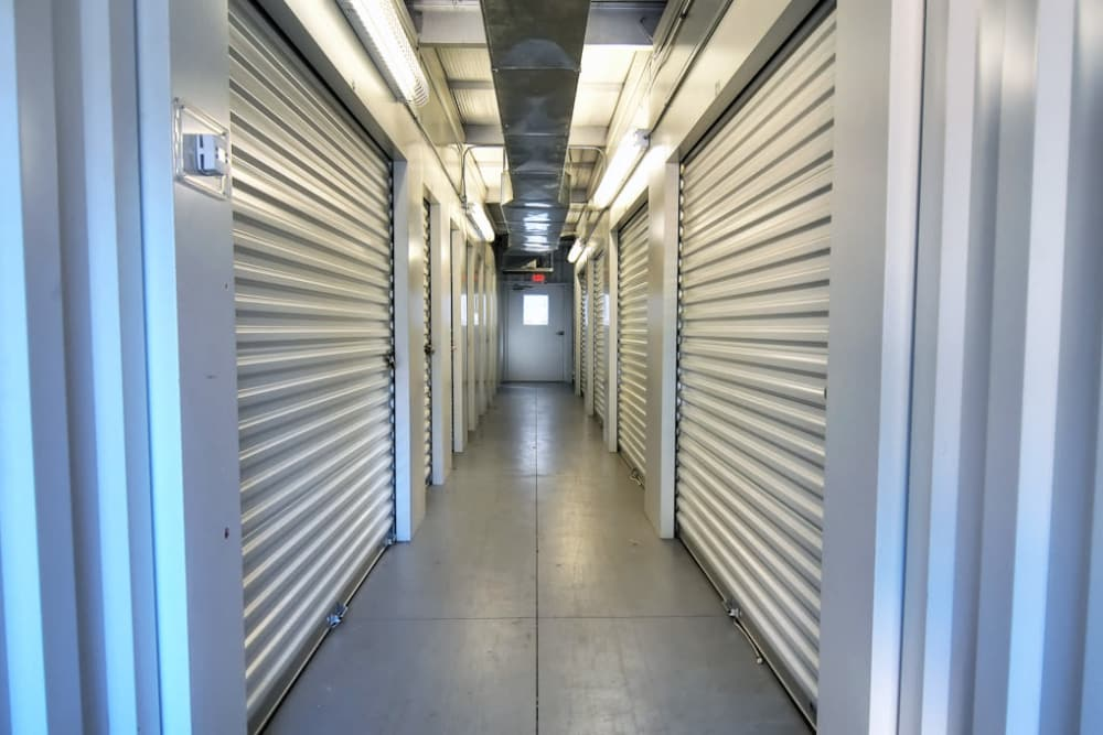 Anchor Lake Wylie features interior storage units in Lake Wylie, South Carolina